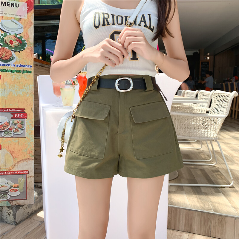 (Pre Order 14 Days)JYSFashionKoreanStyleWomenJeansPantCollectioncol538-2540- green l