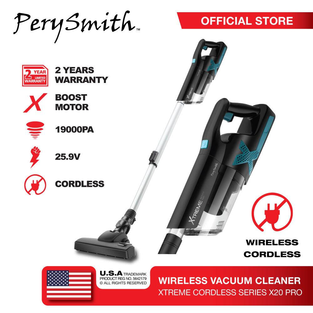 PerySmith Cordless Vacuum Cleaner XTREME Series X20 PRO (Handstick Vacuum Cleaner Canister Vacuum Cleaner Portable Vacuum Cleaner Handheld Vacuum Cleaner Cordless Vacuum Cleaner)X20 PRO