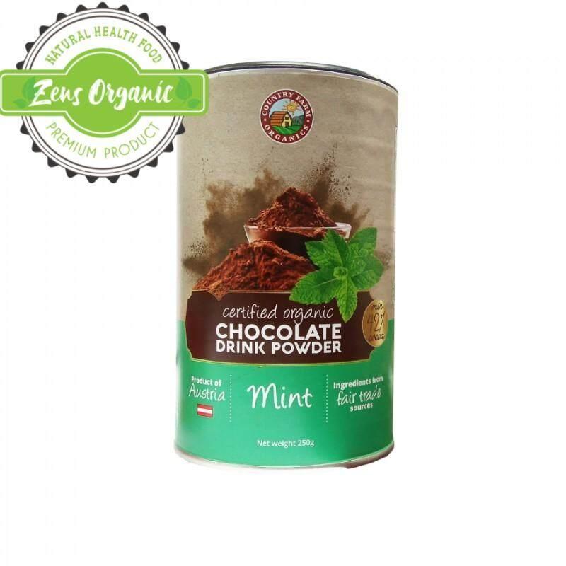 CFO Country Farm Organics Chocolate Drink Powder 250g - MINT