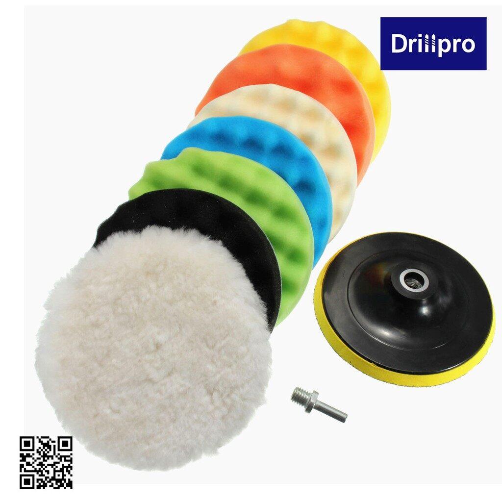 Wash & Wax - 8 PIECE(s)/ SET 4\'\' Sponge Polishing Waxing Buffing Pads SET Kit - Car Care
