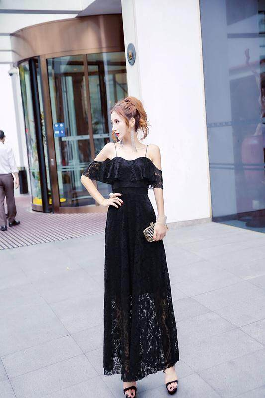 JYS Fashion Korean Style Women Dinner Dress Collection 512-5279