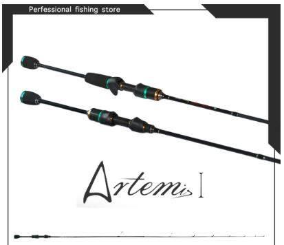 1.5m / 1.68m / 1.8m UL Power Fishing Rod Solid Tip Micro-jigging Rod Ultra Light Spinning Rod Ultralight Baitcasting Rod Joran Pancing