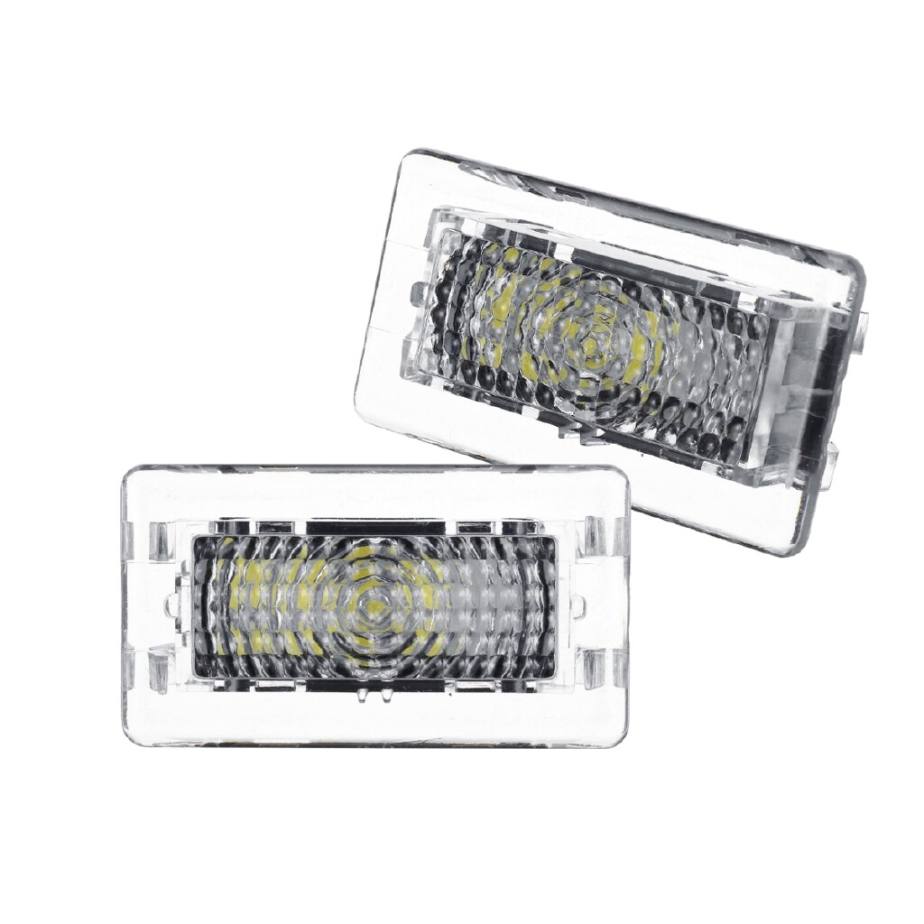 Car Lights - 2 PIECE(s) 12V 12 LED High Output Interior Light Lamp For the Tesla Model 3/S/X Series - Replacement Parts