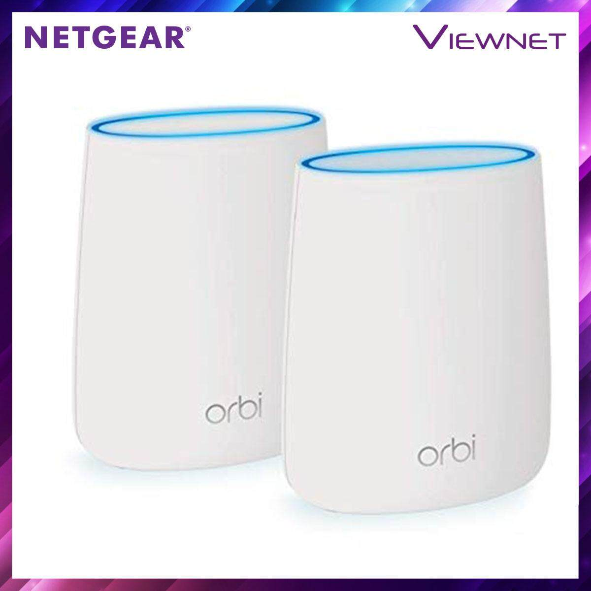 Netgear Orbi RBK20 AC2200 Whole Home Tri-band Mesh WiFi System