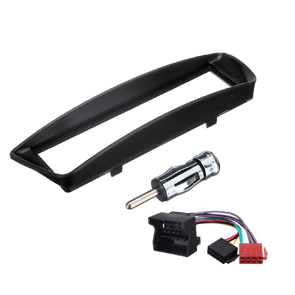 Car Electronics - 1Din Radio Stereo Fascia Surround Adaptor Panel Fitting Kit For Peugeot Citroen - Automotive