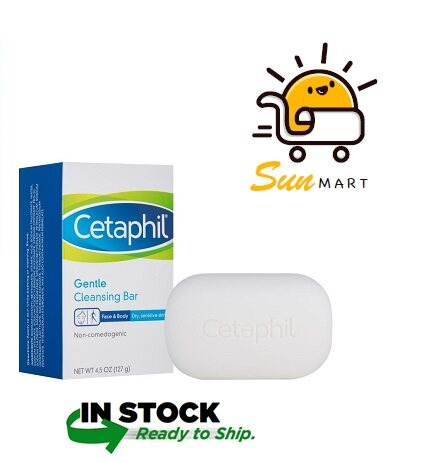 CETAPHIL GENTLE CLEANSING BAR (127G)