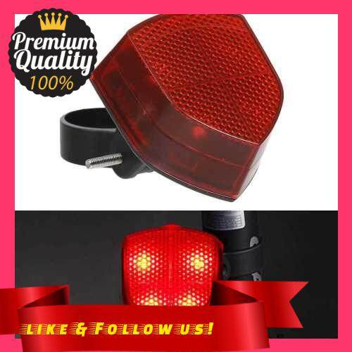 People\'s Choice LED Bike Tail Light Bicycle Rear Lights Rear Safety Cycling Light for Bicycles, Camping, Backpacks, Hiking (Red)