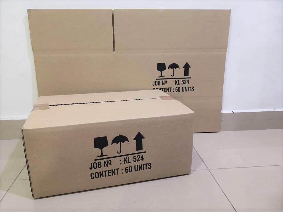 10pcs Printed Carton Boxes (L456 X W310 X H199mm)