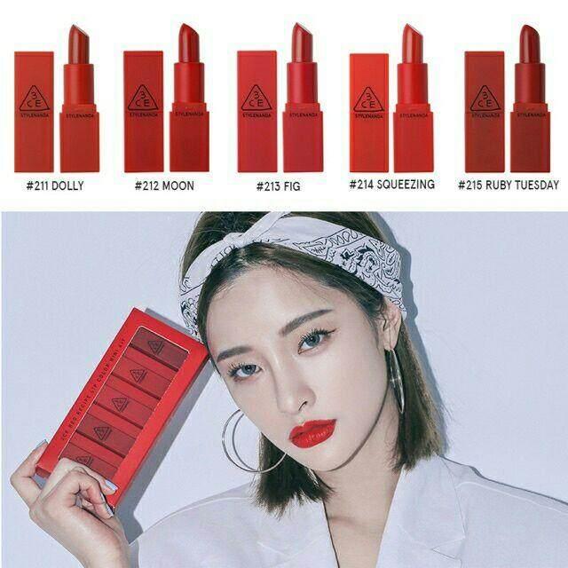FREE GIFTMood Recipe Red Lipstick 5 in 1 Set lipstick