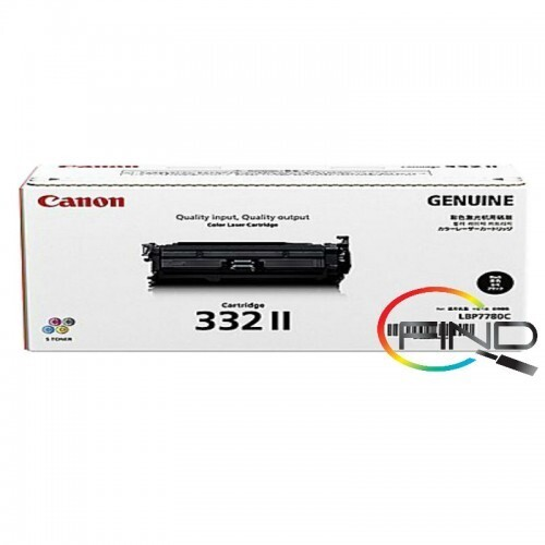 CANON CART 332 II BLACK TONER for LBP-7780Cx Printer