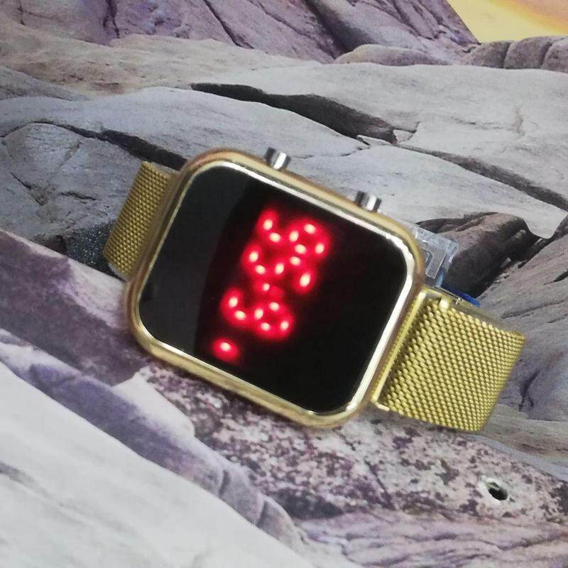 Besi LED Fully Digital Light Watch For Unisex New Arrival Stylish Good Quality Watch Magnet Strap Watch Awesome Color Edition With New Hertiage Design