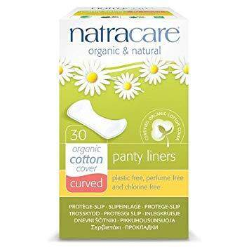 NATRACARE CURVED PANTY LINERS 30S