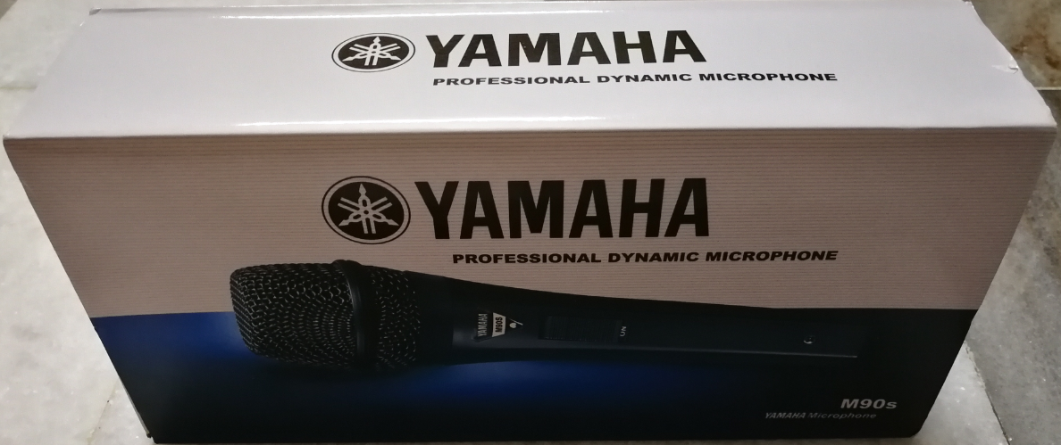 Yamaha DM-200s And M90s Professional Dynamic Microphone For Karaoke/Vocal