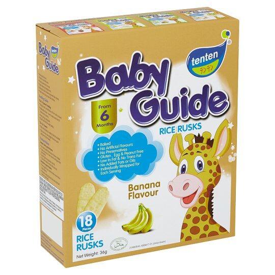TenTen Baby guide Rise Husk (6month+) CARROT