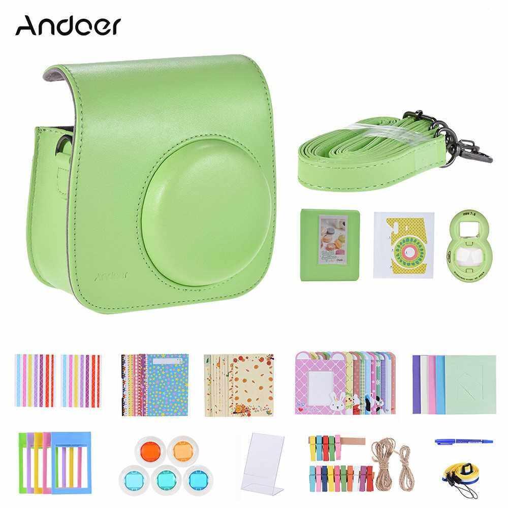 Andoer 14 in 1 Instant Camera Accessories Bundle Kit (Gr)
