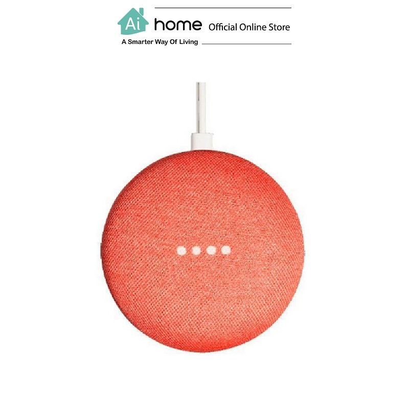 GOOGLE Home Mini [ Smart Speaker ] Google Assistant with 1 Year Malaysia Warranty [ Ai Home ] GHMCR