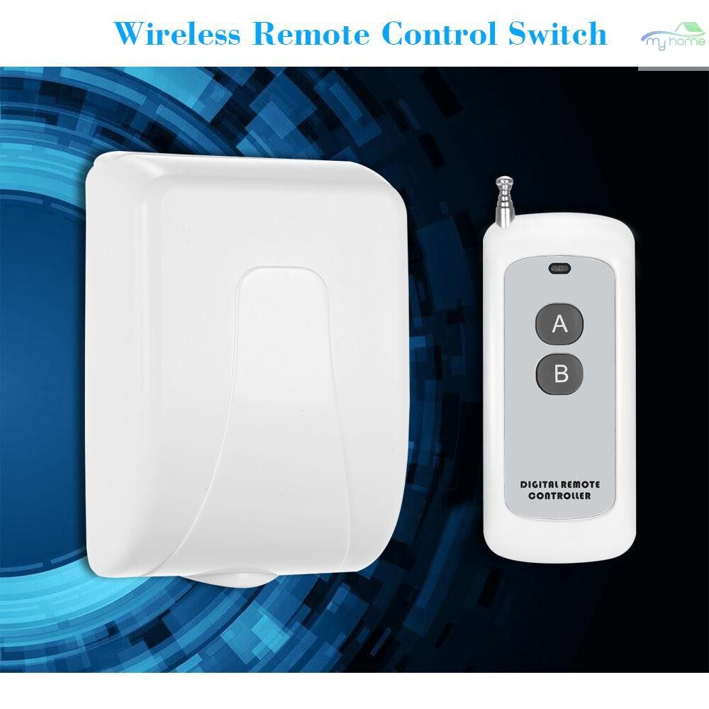 DIY Tools - Smart Home 433Mhz RF DC 12V 2CH Learning Code WIRELESS Remote Control Switch Relay Receiver - WHITE-PACK OF 1