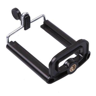 Universal Stretchable Rotating Selfie Tripod Mount Adapter (BLACK)