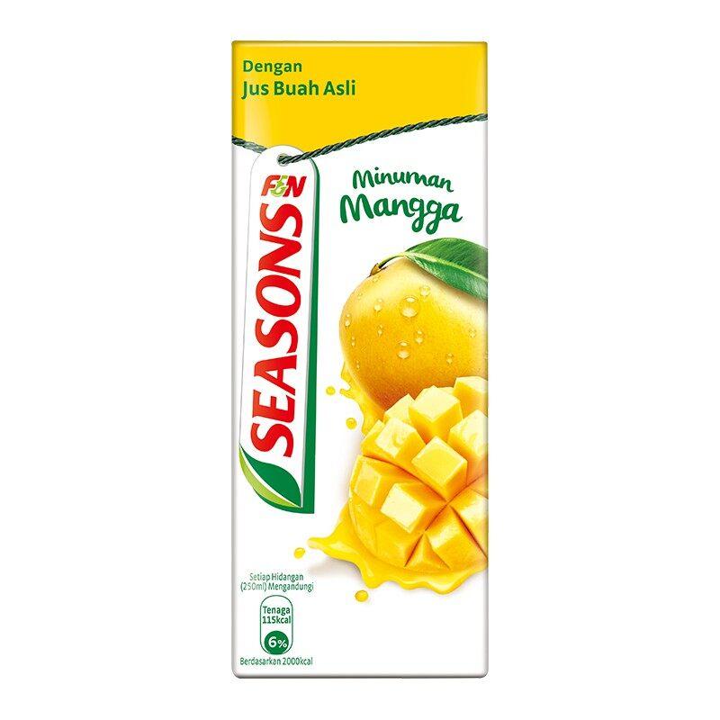 F&N Seasons Minuman Mangga 250ml