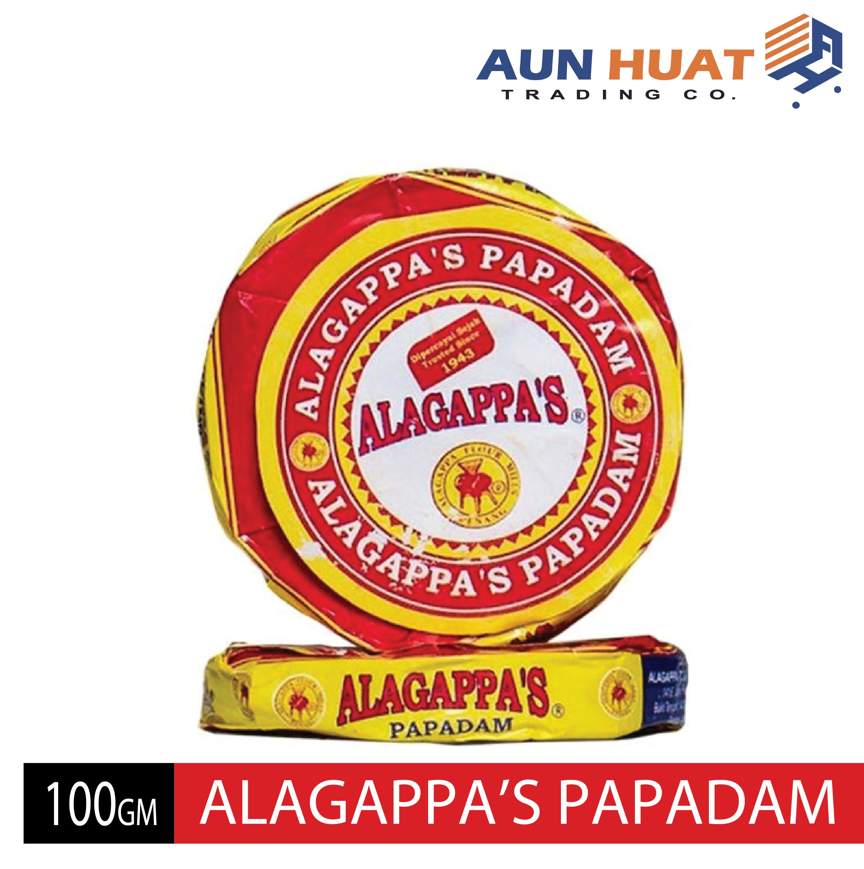 Alagappa's Papadam / Papadam (100gm)