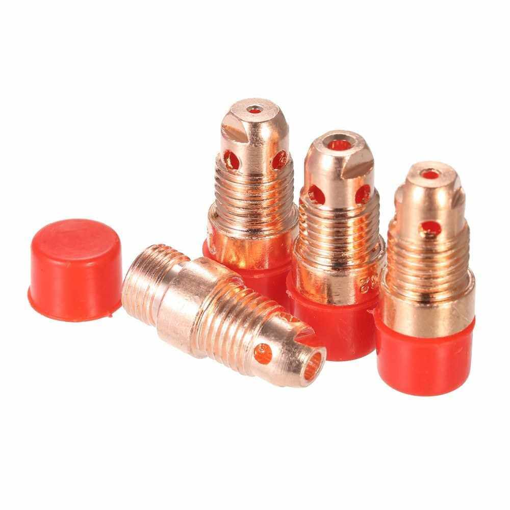 49PCS TIG Welding Torch Stubby Gas Lens #10 Glass Cup Kit for WP-17/18/26 (Standard)
