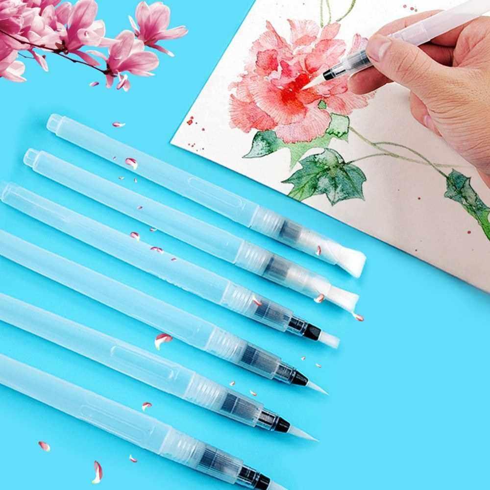 Best Selling Water Brush Watercolor Paint Brushes Watercolor Brush Watercolor Pen Watercolor Paint Pen WaterBrush Detail Paint Brushes Set (3)