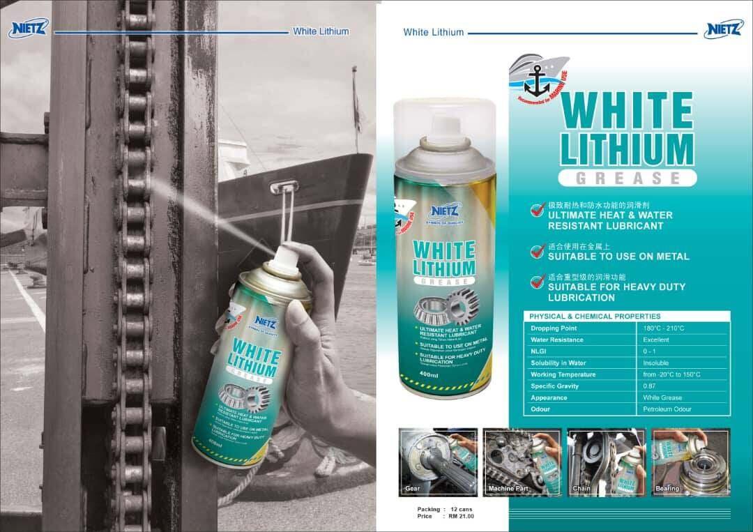 White Lithium Grease NIETZ (400ML)