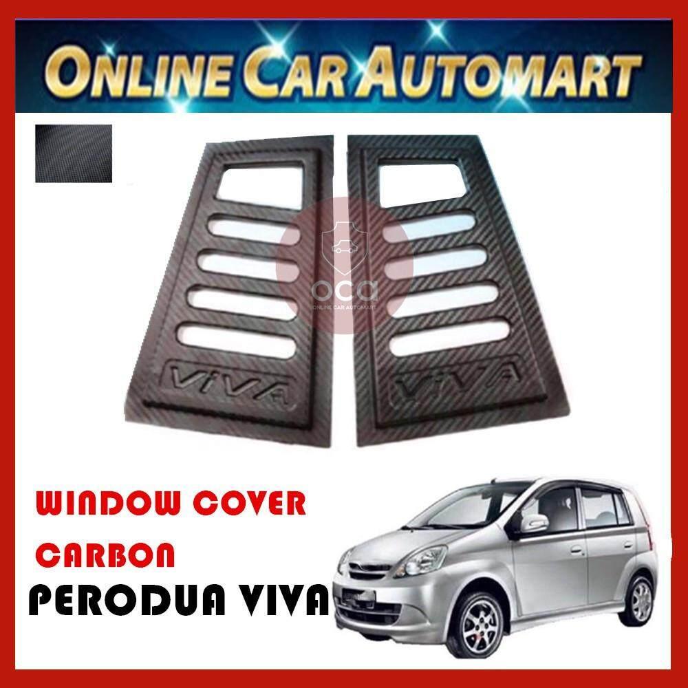 Rear Side Window Cover for Perodua Viva (2007 - 2014)