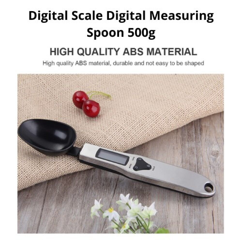 [ Local Ready Stocks ] Digital Spoon Measuring Digital Scale Digital Measuring Spoon Sudu Penimbang 500g