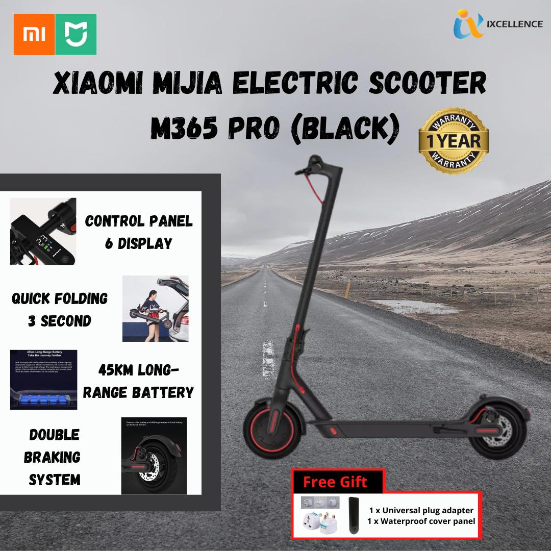 [IX] XIAOMI Mi Home Mijia M365 PRO Electric Scooter READY STOCK (Black) FBC4008CN
