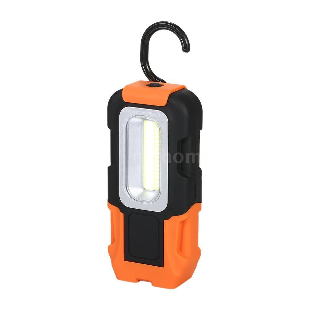 Outdoor Lighting - Battery Operated ULTRA-light LED Camping Light Emergency Car Maintenance Flashlight Work Lamp with - #