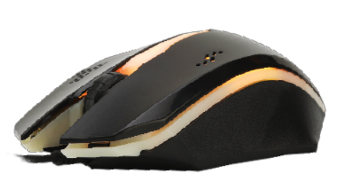 AVF Wired Gaming Mouse (AGG-R03), 1000DPI, USB Wired