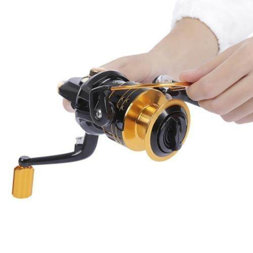 PROBEROS 12 BALL BEARINGS 5.2:1 METAL SPOOL SPINNING FISHING REEL (COLORMIX)