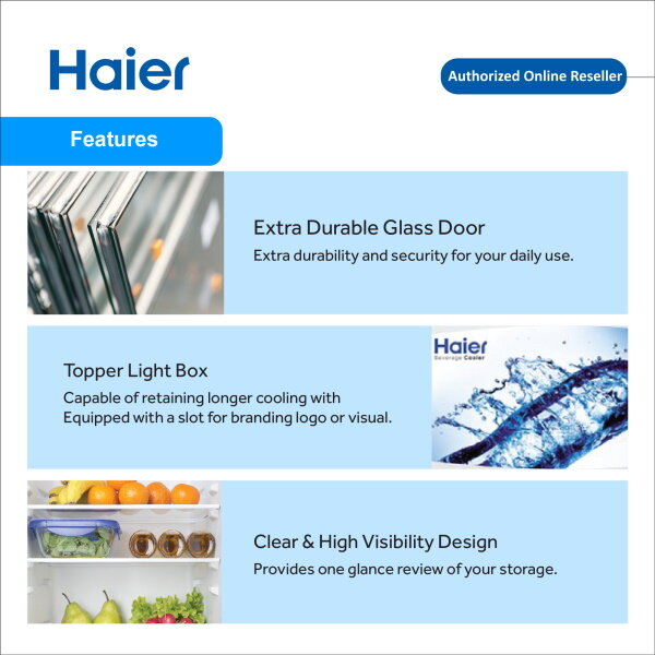 Haier SC-248 Cool Beverage Showcase Freezer