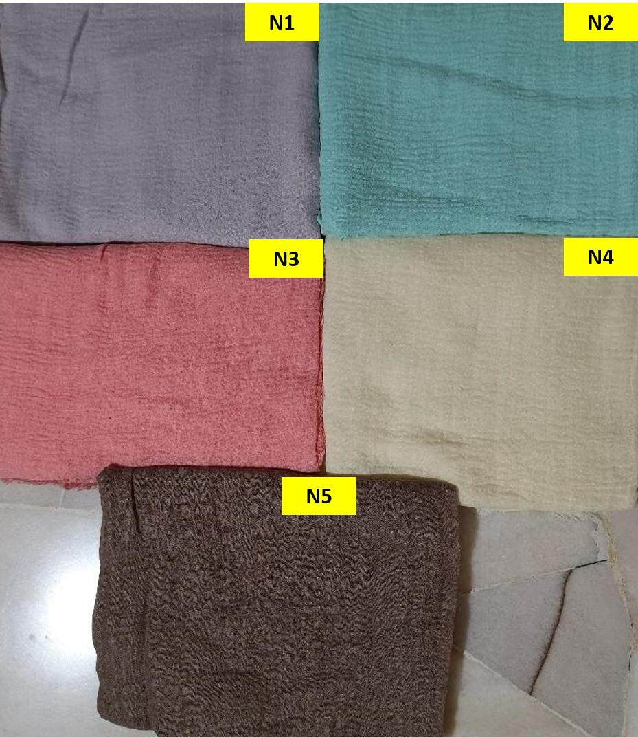 Muslimah Wear- Negro Shawl Collection 108