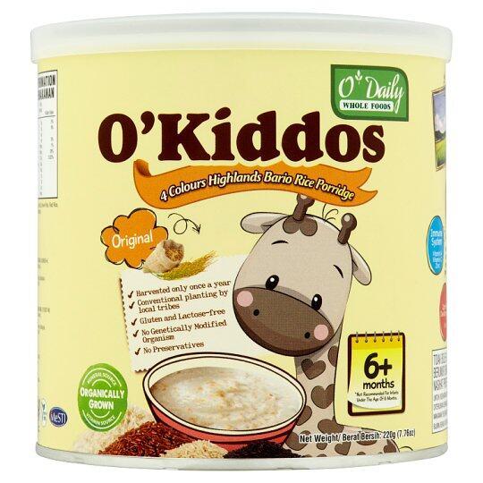 O'Kiddos Baby Rice Porridge - Original (220G)