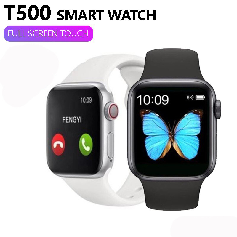 iPhon and Andriod T500 Smart Watch Bluetooth Call/Music HeartRate Blood Pressure Monitor Fitness Tracker Smartwatch