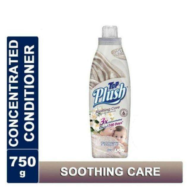 TOP Plush Ultra Concentrated Fabric Conditioner-SOOTHING CARE 750g  READY STOCK
