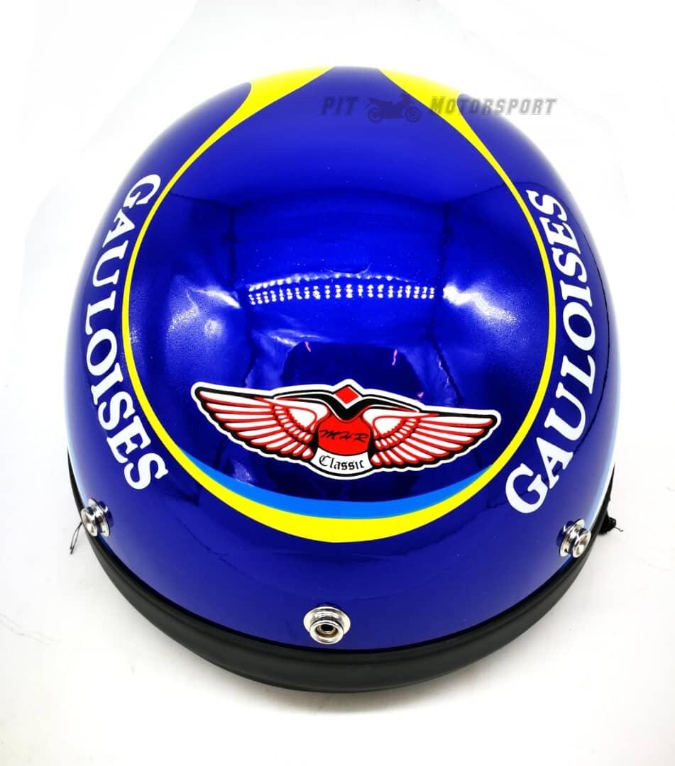 Gauloises MHR III Half Cut Helmet / MHR 3 100% Original Size L Add On Visor Kura EX5 Y110 Y80 125Z Ysuku RFS150 VF3i C70 RS150 LC135 Y15