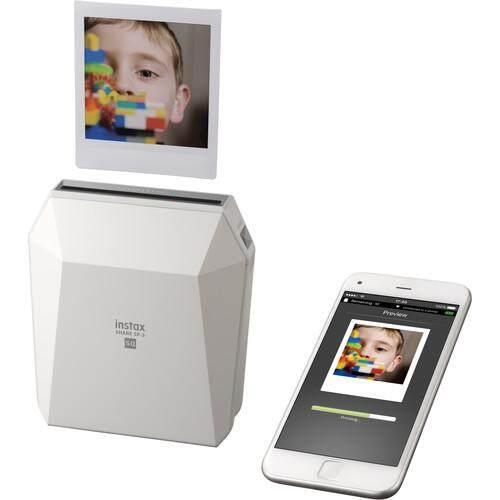 FUJIFILM INSTAX SHARE SP-3 Smartphone Printer with SQUARE Film Creative Kit