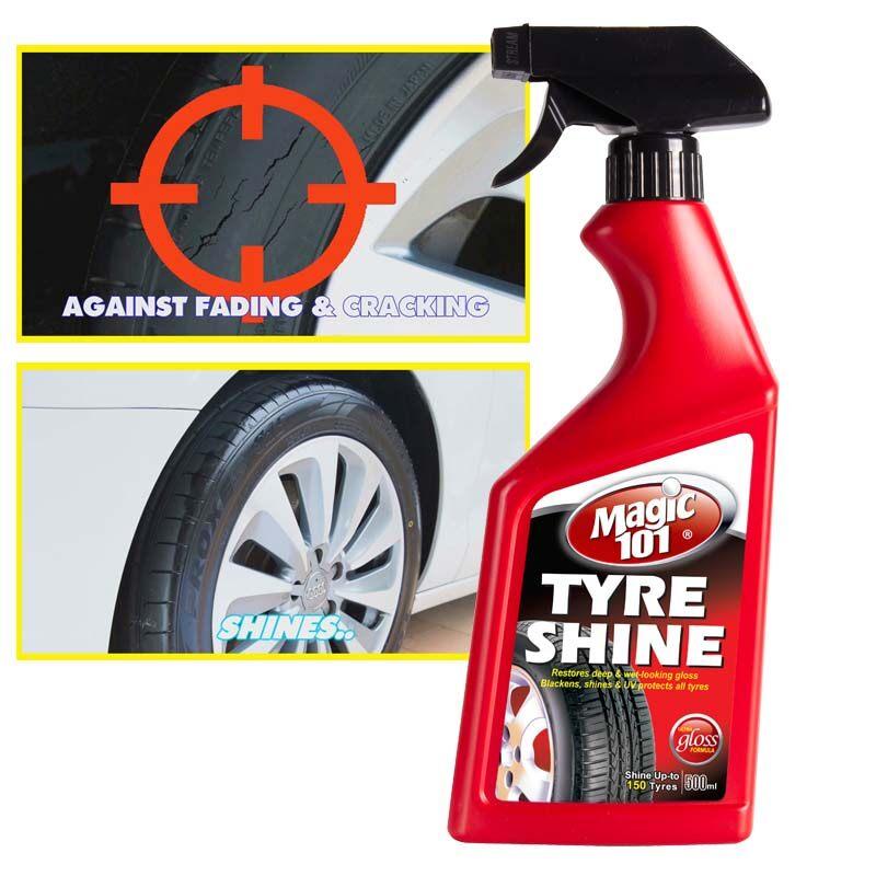 Magic101 Tyre Shine Spray 500ml