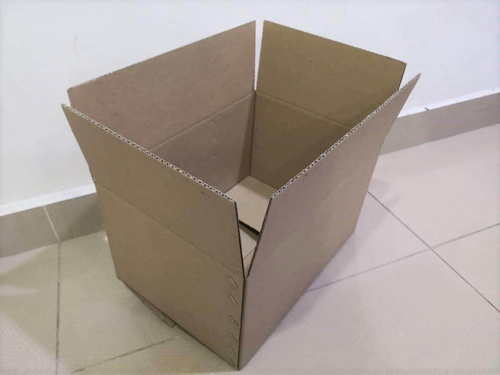 10pcs Plain Carton Boxes (L336 X W240 X H190mm)