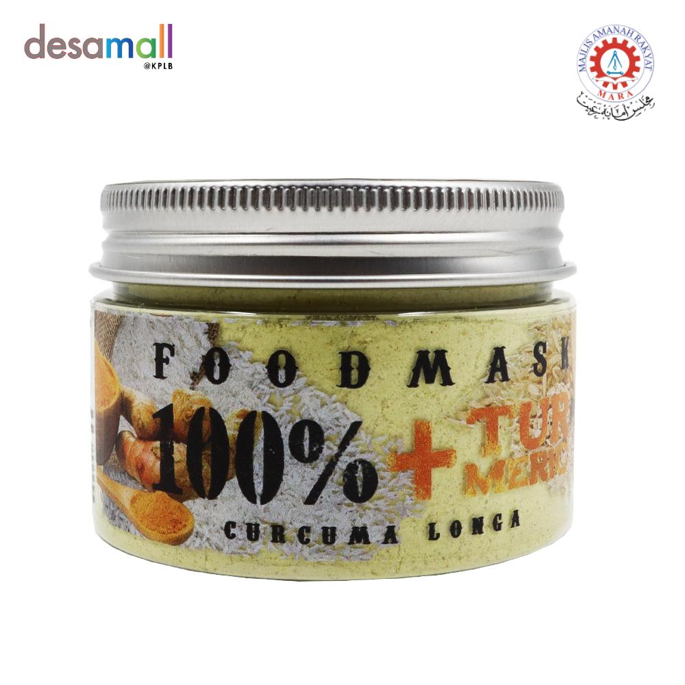 KULIT KULTURE Foodmask 100% Oat & Rice +Turmeric (110g)