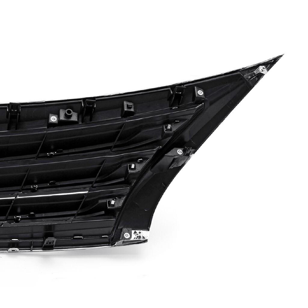 Car Accessories - Chrome Front Hood Bumper Upper Grille Surrounding For Nissan Altima 2013-2015 - Automotive