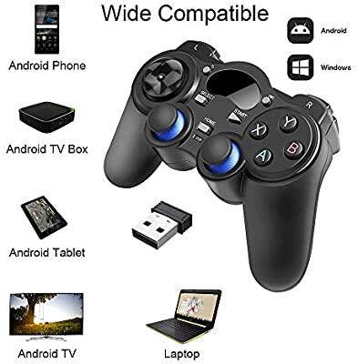 2.4G Wireless Gaming Controller Gamepad for Android Tablets PC TV Box