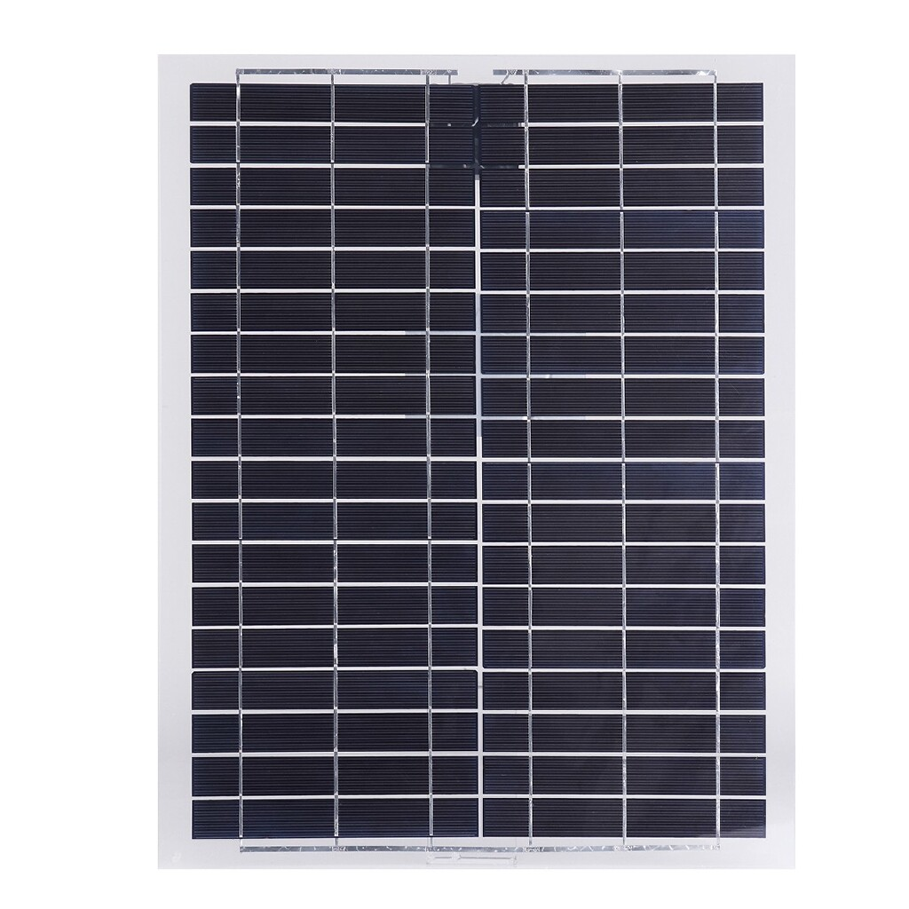 Chargers & Power Supply - 20W 12V Poly Flexible Solar Panels Battery Charger w/ 4m Cable For Boat Caravan - Components