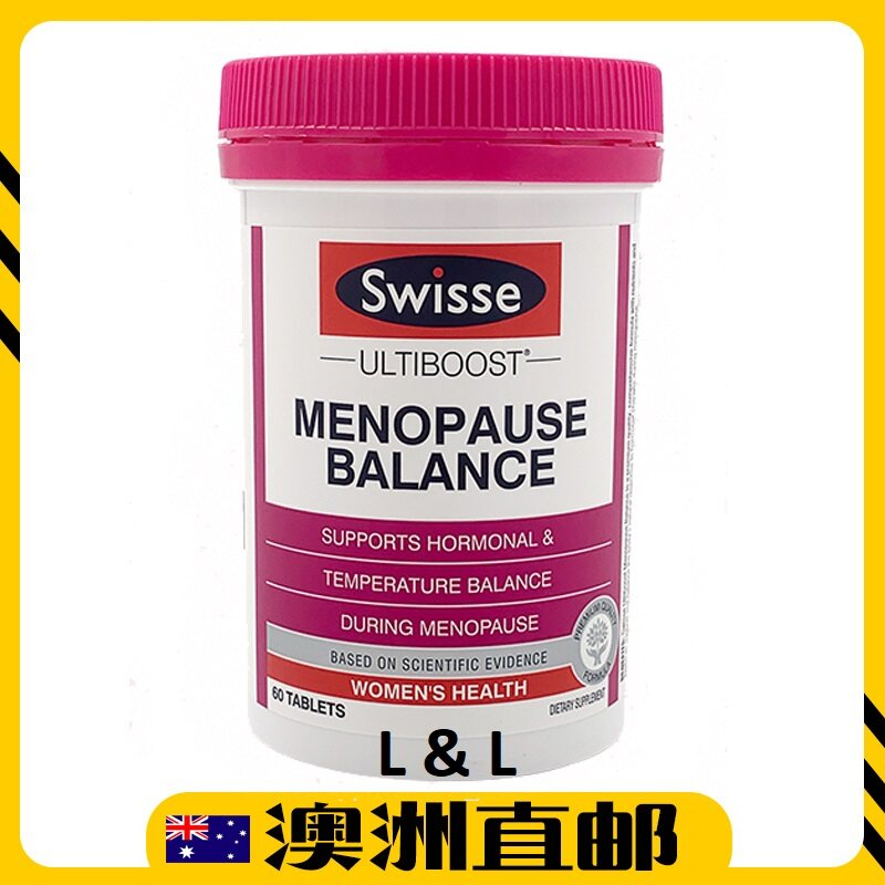 [Ready Stock EXP: 01/2021yr] Swisse Ultiboost Menopause Balance (60 Tablets) (Made In Australia)