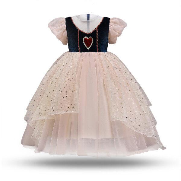 Giá bán Váy Công Chúa Cho Bé Gái, Tay Phồng, Trang Phục Dự Tiệc Hóa Trang 3-8 Tuổi