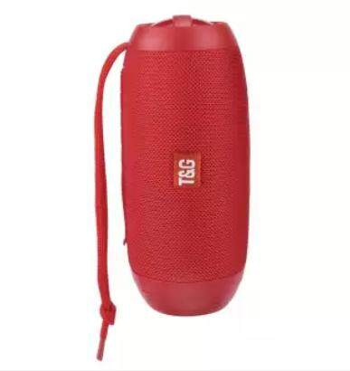 TG602 Wireless Speaker Portable With TorchLight (Fresh Import) High Quality RED