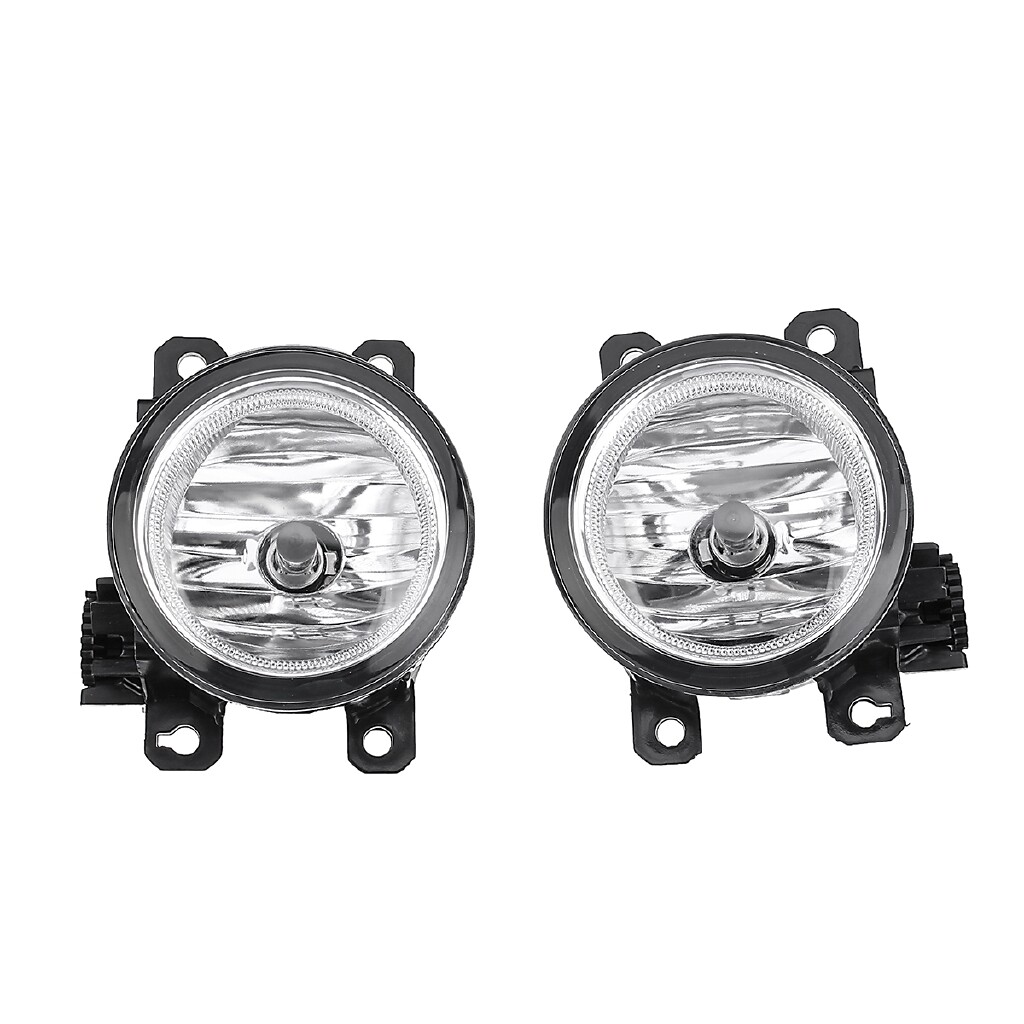 Car Lights - For 2015-2017 Honda Fit Bumper Clear Lens Fog Driving Light Lamp w/ Bulbs+Switch - Replacement Parts